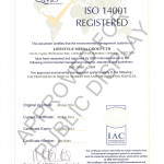 Environmental Business Practices – Our ISO Accreditation