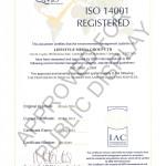LMG ISO 14001 accreditation